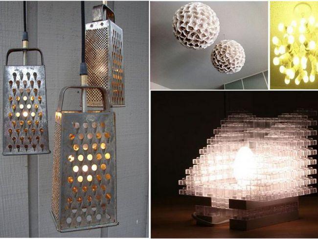 5 Креативних ідей для створення лампи своїми руками