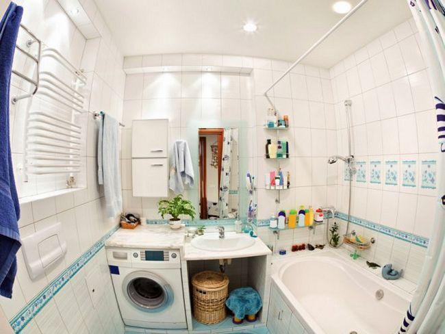 7 Рад, як збільшити простір маленької ванної