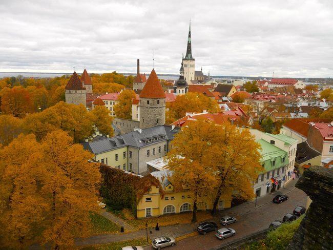 осінь Таллінн