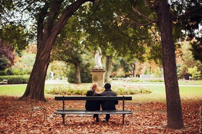 осінь Париж