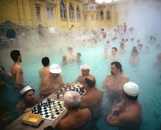 Королівські купальні Сечені Будапешт