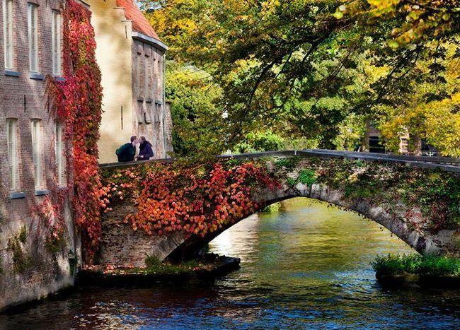 Брюгге восени