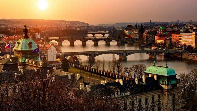 осінь Прага