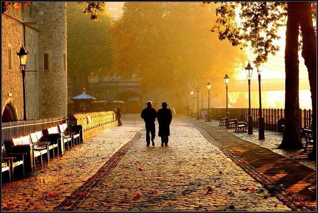 осінь Лондон