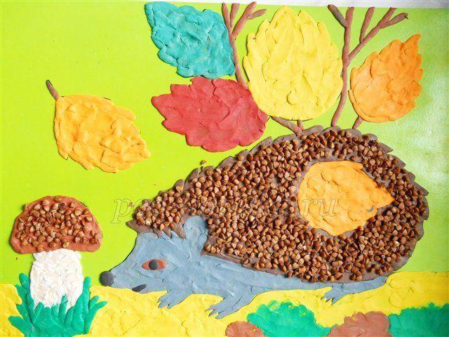 Аплікації з пластиліну: покрокові інструкції на прикладі виготовлення мухомора, квітів і жирафа в різних техніках