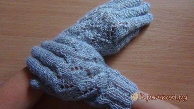 Ажурні рукавички для дівчинки своїми руками: докладні майстер-класи з ілюстраціями