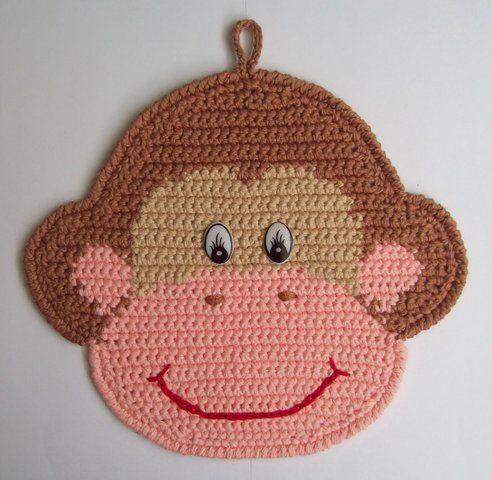 Бібізян: майстер-клас з в`язання мавпочки-держателя для штор за допомогою кільця амигуруми з фотографіями