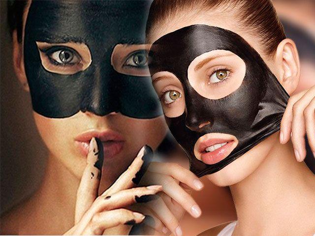 Black mask чорна маска від чорних крапок