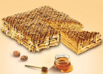 Великий і смачний медовик - для свята і не тільки