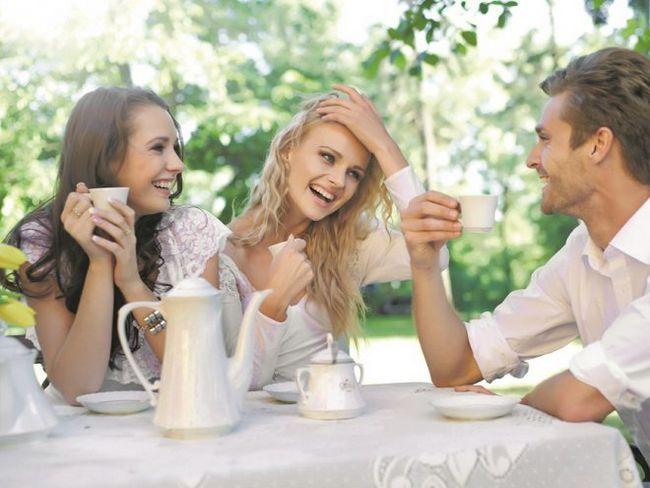 Чайна вечірка в англійському стилі