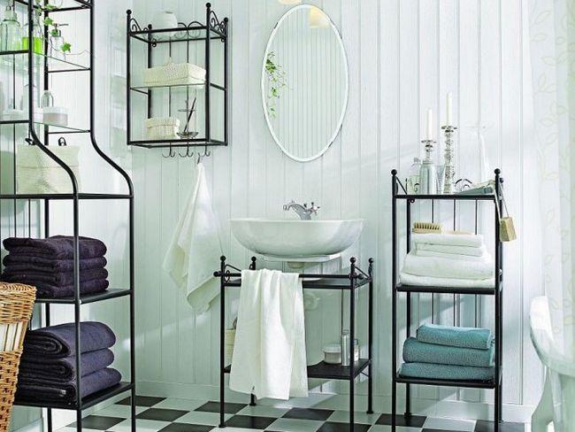 Чорно-біла ванна - тренд, який завжди в моді