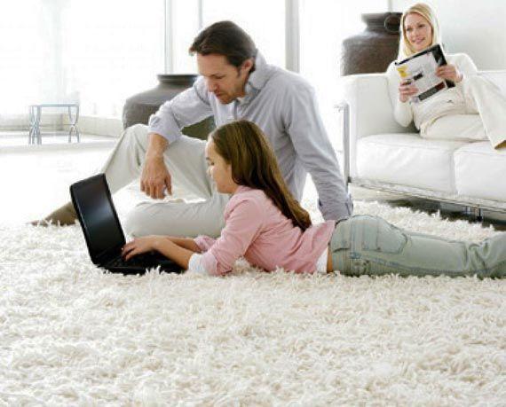 Чистка килимів в домашніх умовах