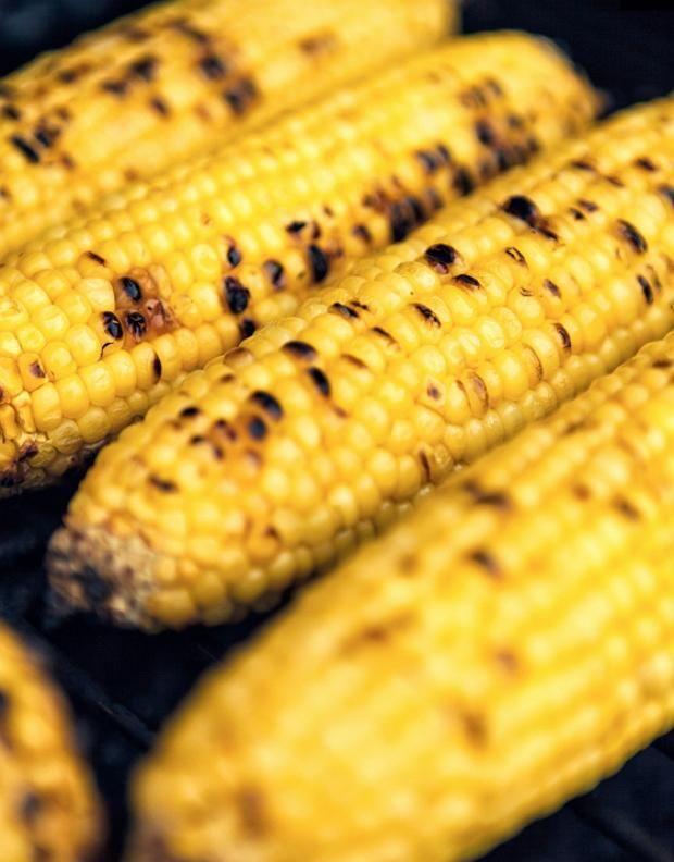 печена кукурудза