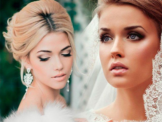 Весільний макіяж фото покроково