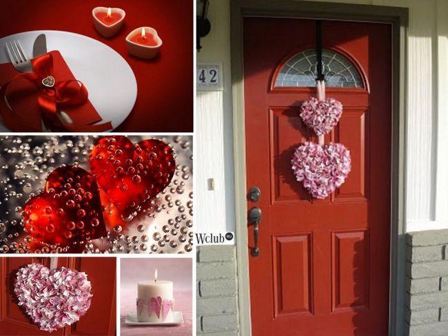Декоруємо двері в день святого валентина