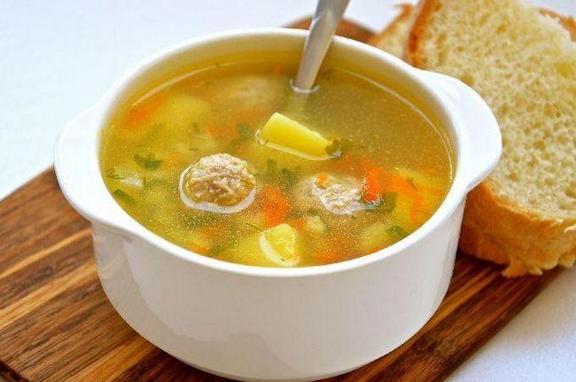 суп в мультиварці