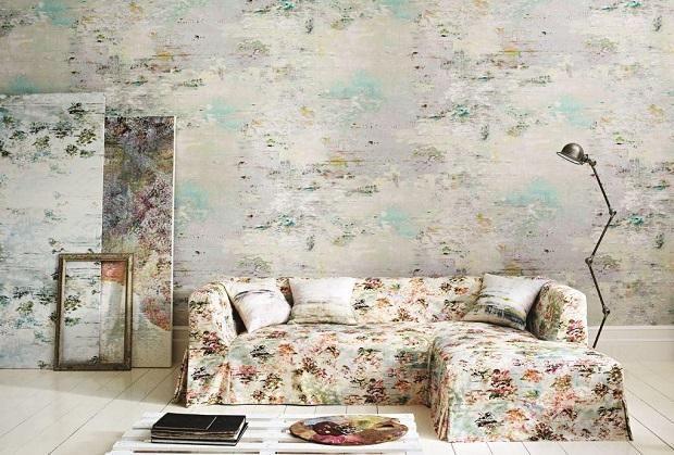Модні шпалери в тон дивана