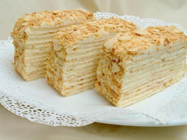 Домашній «наполеон» - розкішний десерт