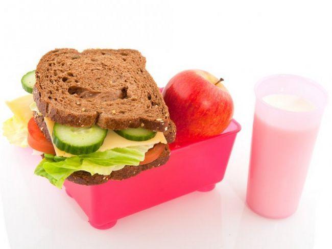 Їжа в школу - що покласти в ссобойку?
