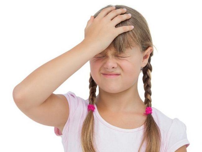 Головний біль у дітей - її причини