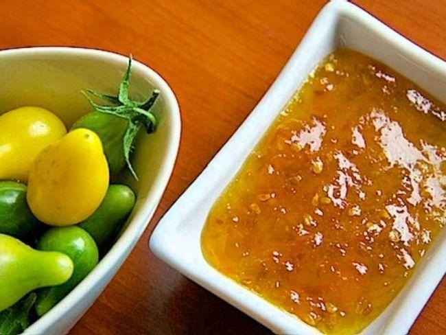 Екзотичне варення із зелених помідорів