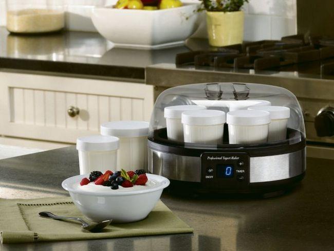 Йогуртниця: тільки живі йогурти на вашій кухні!
