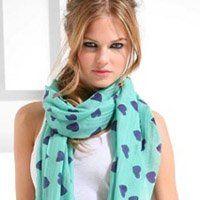 Як модно зав`язати шарф, шовкові і в`язані жіночі аксесуари