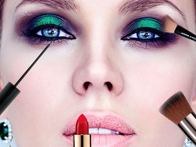 Як правильно робити макіяж обличчя поетапно фото з описом