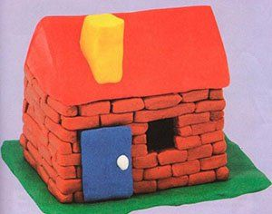 Як зробити будинок з пластиліну з дитиною дошкільного віку в домашніх умовах своїми руками