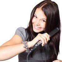Як завити волосся праскою, способи накрутити пасма