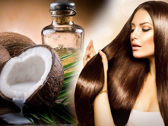 Кокосове масло для волосся рецепти