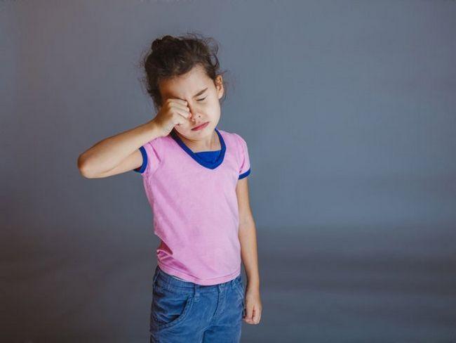 Кон`юнктивіт у дітей
