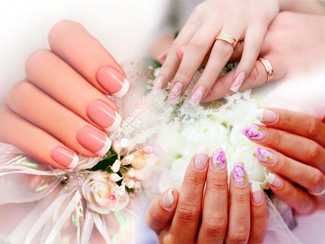 Гарний весільний манікюр для стильних наречених