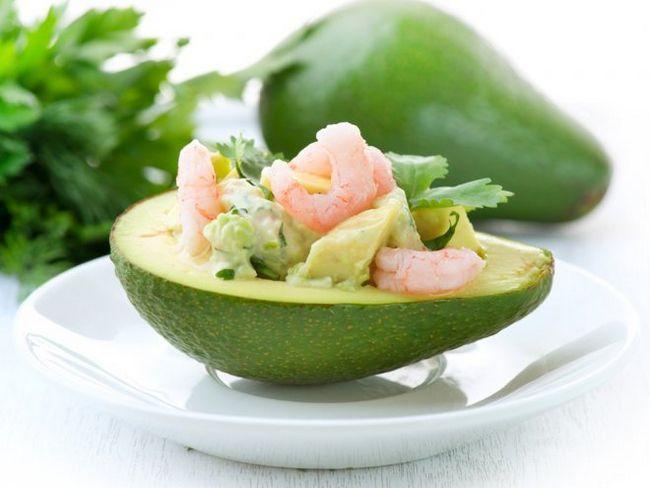 Човники з авокадо - смачна закуска