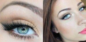 Макіяж для блакитних очей: тонкощі виконання мейк апу під блакитні очі