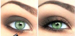 Макіяж для зелених очей: секрети мейк апу під зелені очі