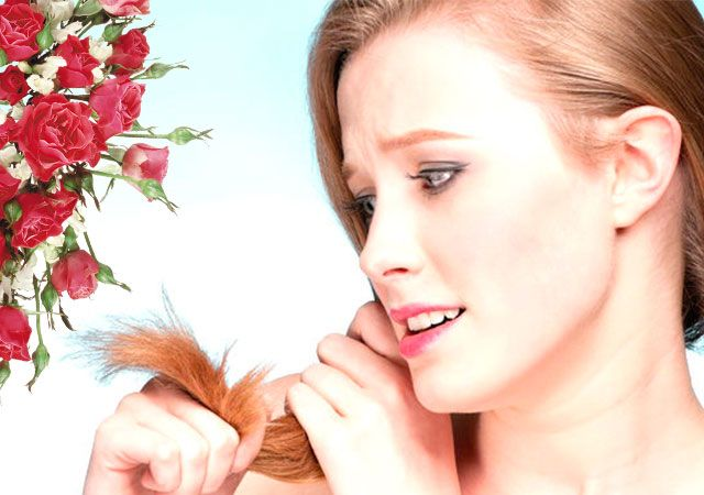 Маска для волосся для посічених кінчиків