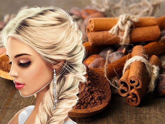 Маска для волосся з корицею для освітлення і зростання рецепти