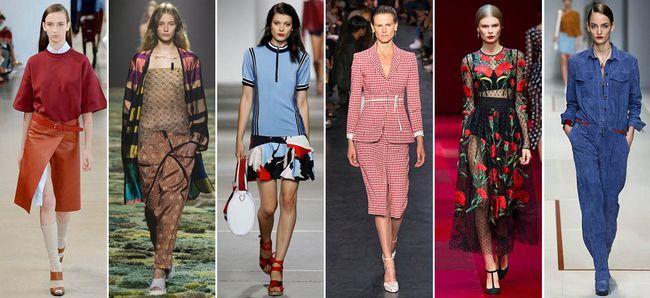 Модний жіночий одяг: головні тенденції весни-літа 2015