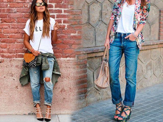 Модні джинси з чим носити