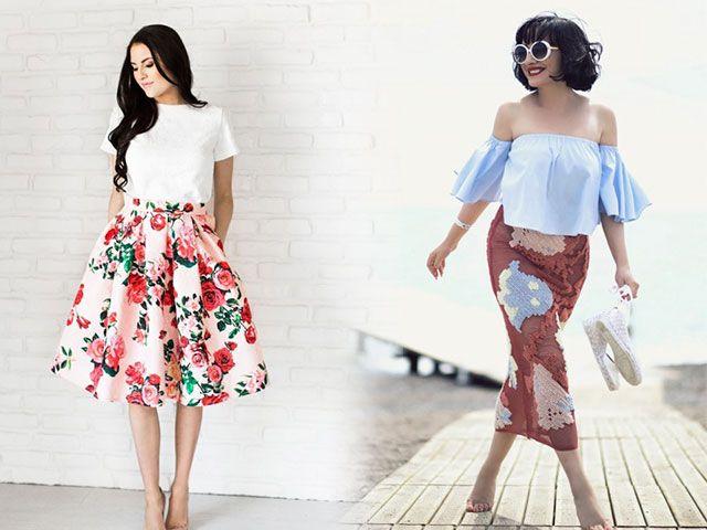 Модні спідниці весна-літо 2016 года фото