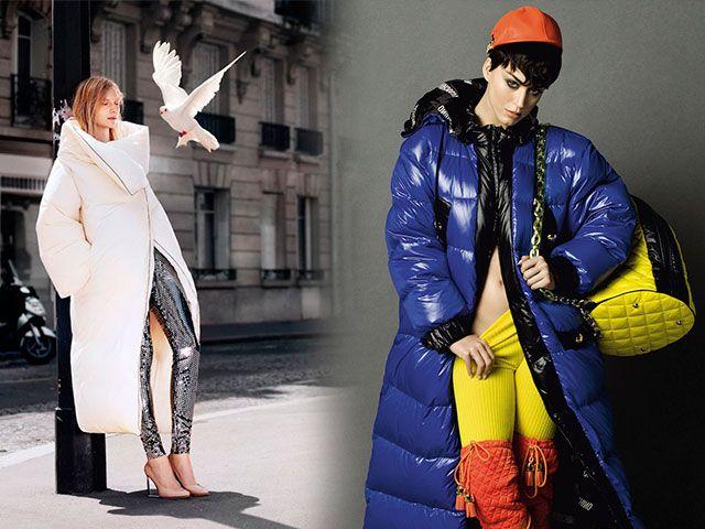 Модні пуховики 2015-2016 фото новинки