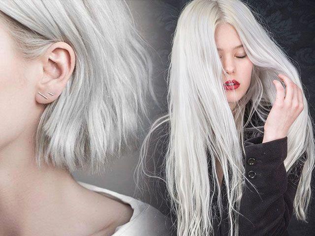 Модний колір волосся попелястий блонд