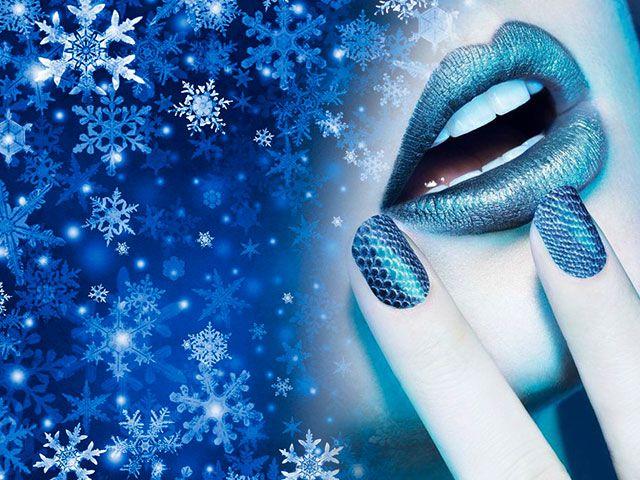 Модний манікюр зима 2016 фото гель-лак