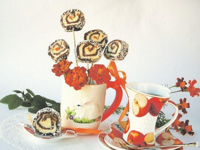 Незвичайні тістечка чупа-чупси