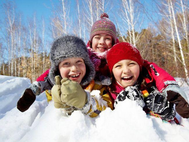 Ненудні канікули - захоплюючі зимові заняття для дітей