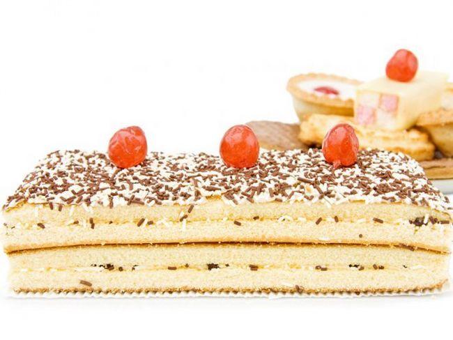 Дуже простий і смачний торт з печива