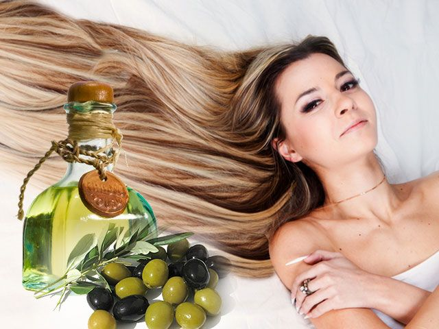 Оливкова олія для сухого волосся рецепти
