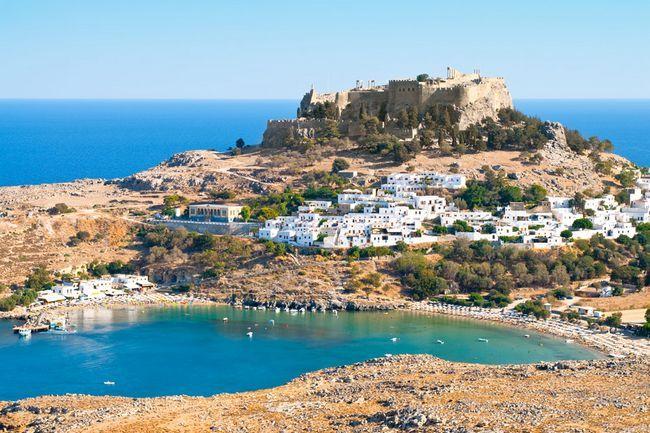 Острів родос пам`ятки в греції