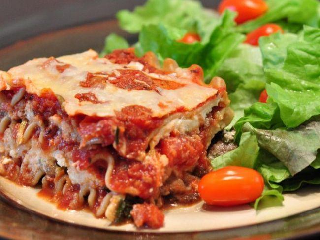 Овочева лазанья - смачне дієтичне блюдо